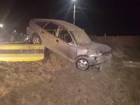 Accident în Sărmășag. O sătmăreancă era să cadă în prăpastie (FOTO)
