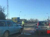 Accident la Satu Mare. O femeie a fost rănită pe trecere (FOTO)