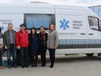 Caravana Medicală Rotary a pornit la drum. Tarna Mare, prima destinație