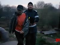 S-a urcat pe podul de fier şi a ameninţat că se aruncă în Someş (FOTO/VIDEO)