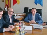 Prefectul, întâlnire cu conducerea județului și municipiului Satu Mare