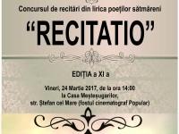 Concursul Recitatio, la a XI a ediție. Actorul Dorel Vișan, președintele juriului