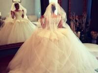 Rochie de mireasă impresionantă realizată de designerul sătmărean Ioana Călin (FOTO&VIDEO)