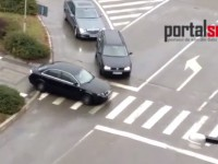 VIDEO. Treceri de pietoni pentru… maşini. Aşa se circulă în Satu Mare