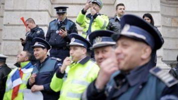 protest politia