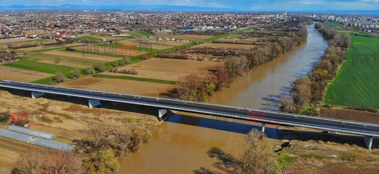 DRONĂ. Noul pod peste Someș, aproape gata