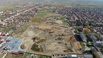 Imagini aeriene cu cel mai mare parc din Satu Mare